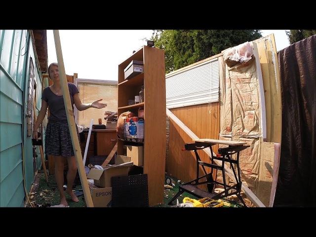Страшный Ураган Смерч Разрушил Наш Дом и Машину 2017