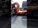 Жуткая авария ДТП Казань Оренбург Hyundai смятку Жесть