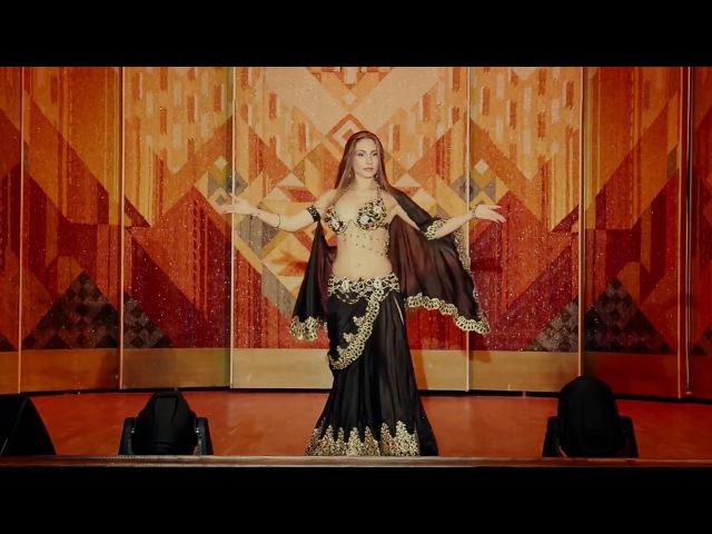 Alla Vatc NEW bellydance performance in Ukraine baladi with tabla