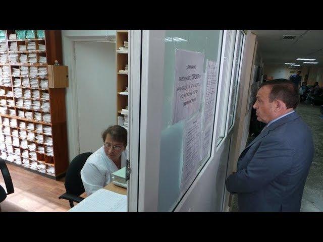 Евстифеев нанес неожиданный визит в детскую стоматологию - МедиаПоток
