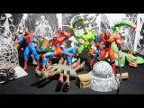 Человек-Паук 1994. 13 волна Web Trap. Распаковка и обзор фигурок (игрушек) фирмы Toy Biz. Мар...