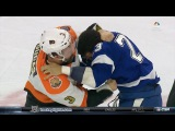 J.T. Brown vs Radko Gudas Nov 19, 2016