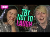 TRY NOT TO LAUGH with KAITLYN ALEXANDER!  KindaTV