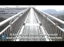 200m high! New overhang glass bridge opens to public in SW China