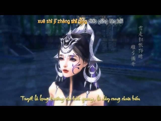 [JX3][Vietsub | Kara] Phong Hoa Tuyết Nguyệt - Tử Đường Túc, Lâm Tà Dương