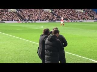 Евро-футбол.ру: Конте чуть не побил своего помощника
