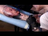 Tattoo|timelapse. Albert Einstein. Мастер: Ирина Локтионова