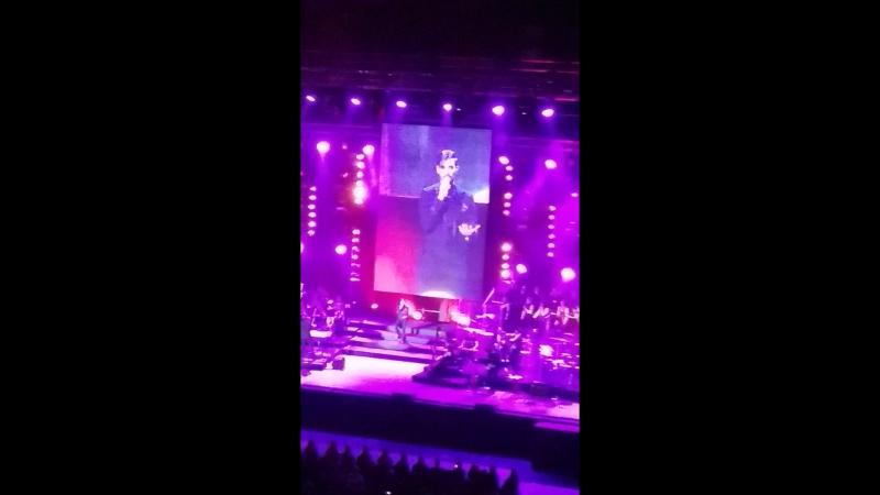 Концерт рок опера Моцарт Флоран Мот Сальери 15 03 17 Сибур арена