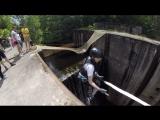 Прыжок со шлюза, 17 метров