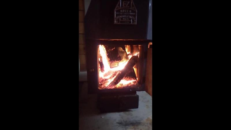 На даче тепло и уютно