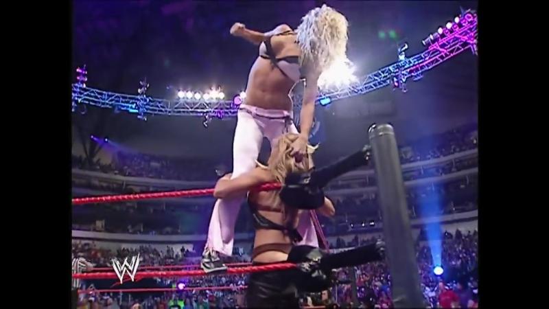 [WWE QTV]☆[Bra Panties Match]Torrie Wilson Candice Michelle Victoria vs Trish Stratus and Ashleyvk.com/wwe_restling_qtv
