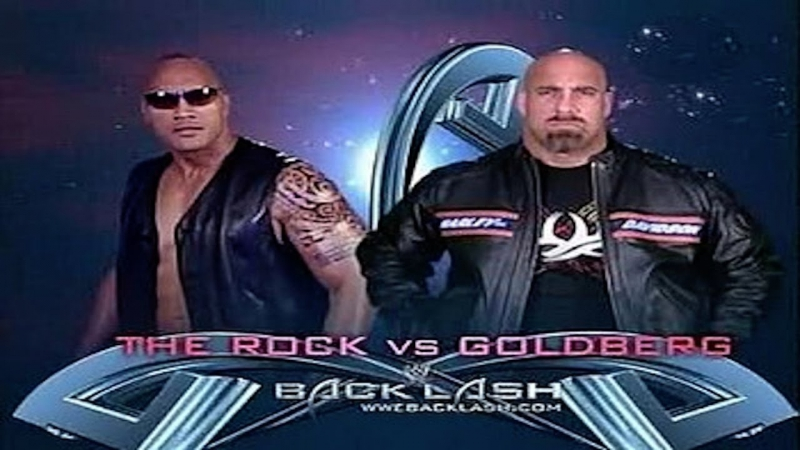 [WWE QTV]☆[Backlash 2003][Goldberg vs The Rock]☆[Голдберг про Рока][Full]