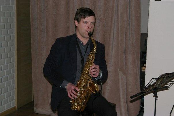 2608 вс Золотой Саксофон в ресторане Баклажан