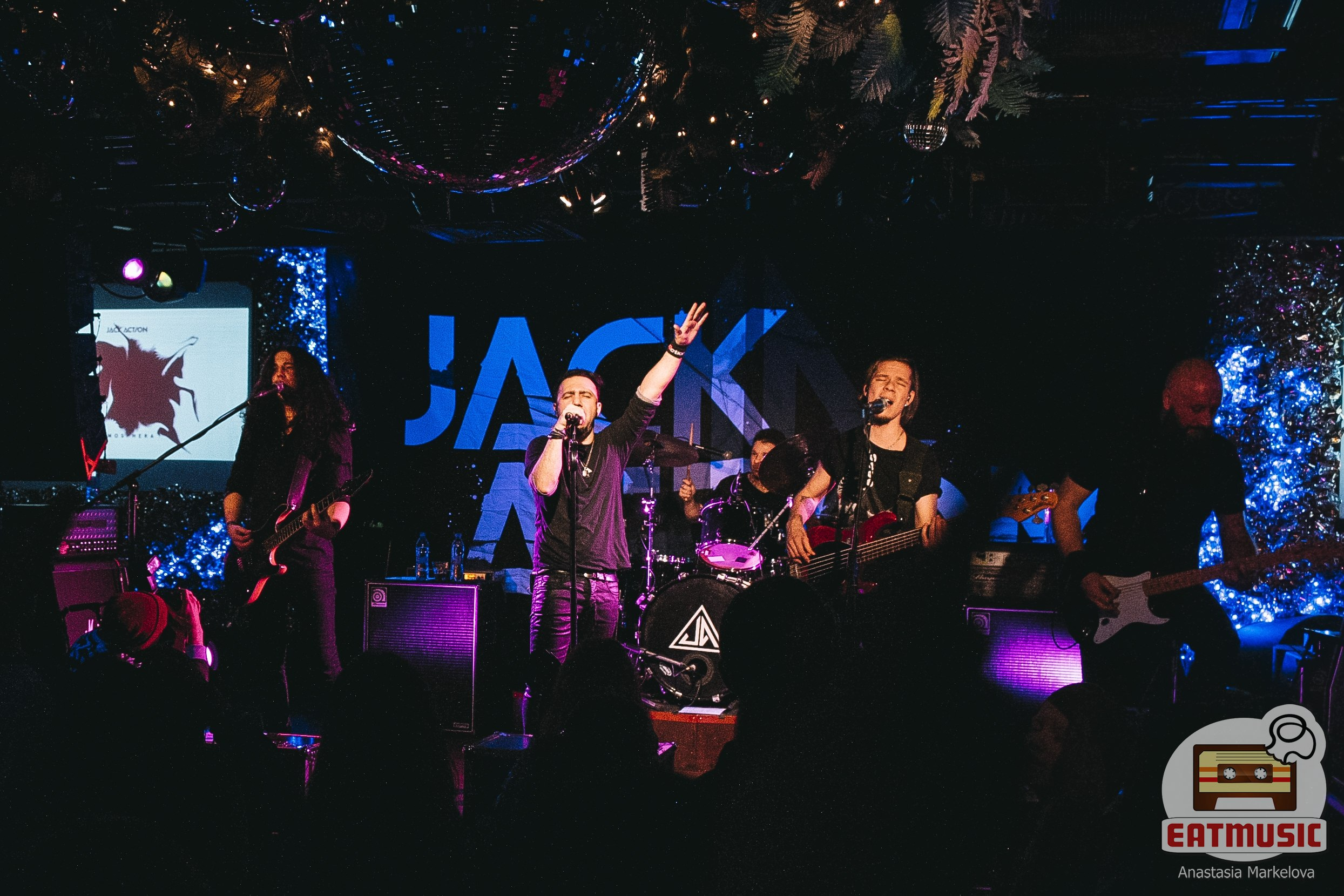 Концерт Jack Action в 16 Тонн