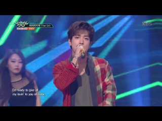 170728 Music Bank That Girl - Jung Yong Hwa