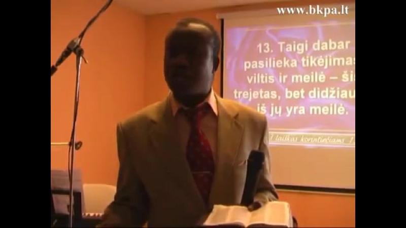 2013.03.10 Moses Daipleh Kame tavo viltis ir pasitikejimas