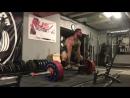 Кристофер Бриджфорд, тяга 370 кг на 5 раз