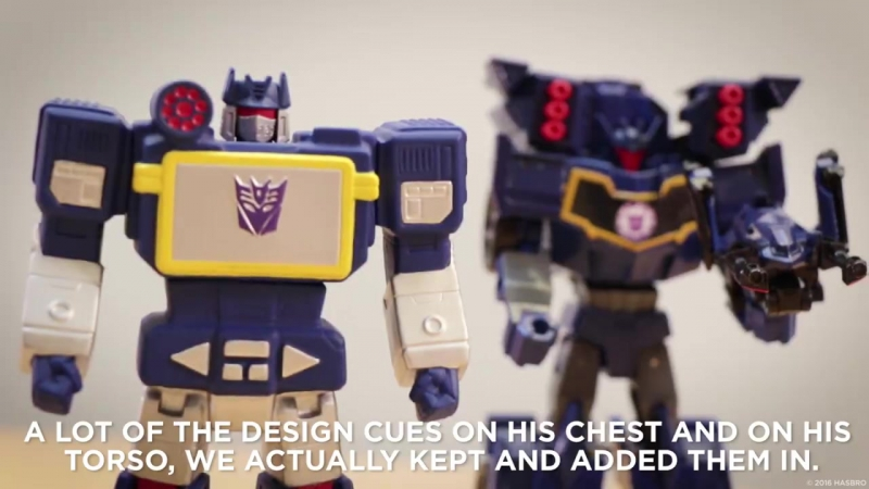 TRiD Activator Combiner Soundwave [Showcase Video]