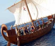 Древний флот Египта