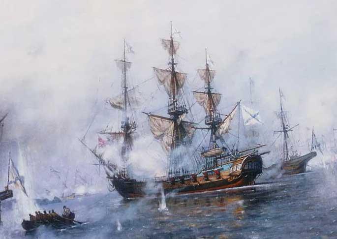 Победы русского флота