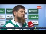 Кадыров пригласил Роналдиньо на первый матч ФК Ахмат