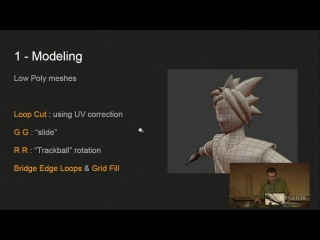 Blender in a video game production pipeline
