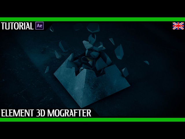 After Effects Tutorial | Create an animation of a destroyed Pyramid with Element 3D Mografter