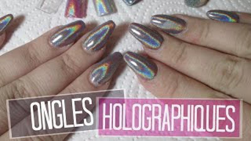 NAIL ART Ongles Holographiques | Melissa Easy Nails
