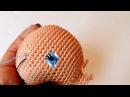 Como bordar ojos para muñeca ARANZA amigurumi By Petus