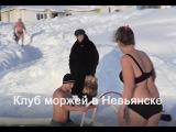 Клуб моржей в Невьянске. A polar bear club in Nev
