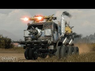 СМЕСЬ EX MACHINA И WAR THUNDER - Crossout Закрытая бета