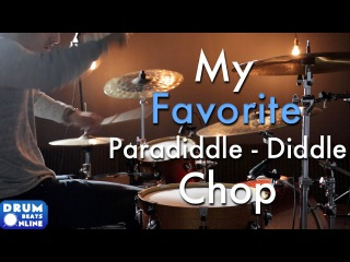 My Favorite Paradiddle-Diddle Chop - Drum Lesson | Drum Beats Online