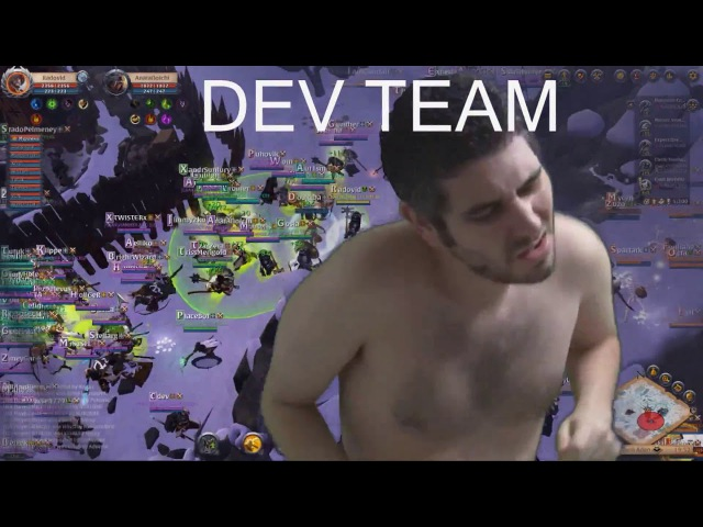 Albion Choppers | ZERG Open PVP 200 people / What devs think about LAGbion?