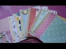 Mini álbum de sobres con cubierta de cartón III Interior