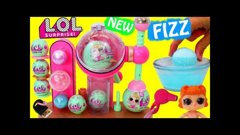 NEW LOL Surprise BATH FIZZ MAKER LOL Doll Bath Bombs DIY Brand New Surprise Accessory Lil Sisters