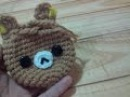 DIY Monedero de Oso, Osito Rilakkuma - Tutorial paso a paso monedero tejido a crochet