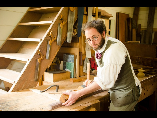 Colonial Williamsburg Hay Cabinet Shop Tour (part 3)