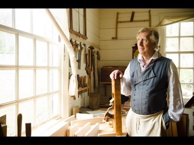Colonial Williamsburg Hay Cabinet Shop Tour (part 1)