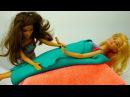 Барби мультфильмы кукла в Спа Салоне у Терезы 🛀 ОБЕРТЫВАНИЕ в видео для девоче...