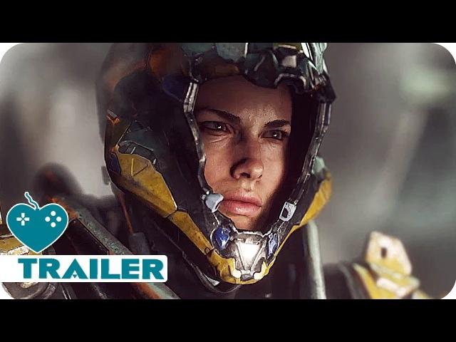 ANTHEM Gameplay Trailer (2019) New Bioware Game | E3 2017