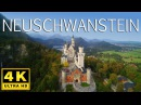Neuschwanstein Castle 4K / Fairytale Castle in Bavaria / Schloss Neuschwanstein with a Drone