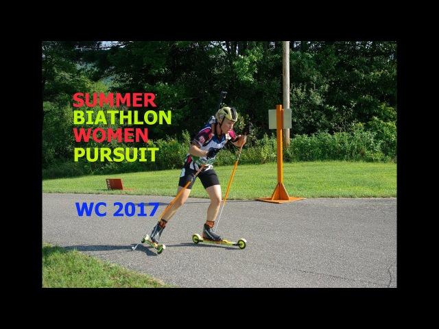 SUMMER BIATHLON WOMEN PURSUIT 27.08.2017 World Championship Chaikovsky (Russia)