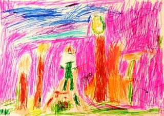 Цветные ладошки картинки 6 7 лет