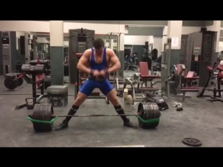 Эндрю Оттавей, тяга 363 кг на 2 раза