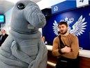 Одно из отделений Почты России навестил самый настоящий Ждун по случае открытия программы…