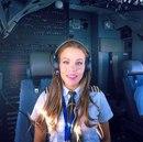 Шведка Малин Рюдквист — пилот Boeing 737.