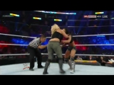 WWE SummerSlam 2013 - Dolph Ziggler and Kaitlyn vs Big E Langston and AJ Lee