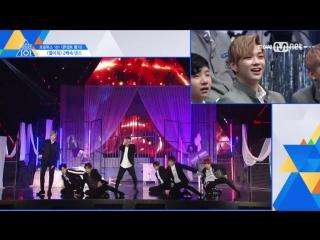 [SPECIAL] 170612 Реакция парней на танец <Open It> на двойной скорости @ Mnet Official
