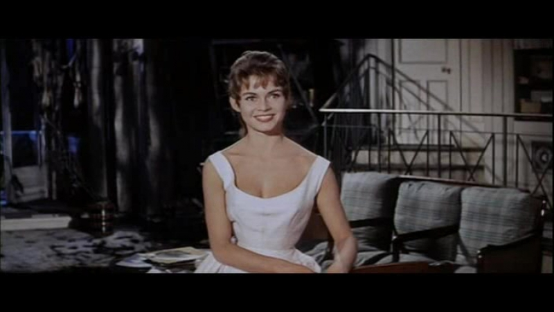 СТРОПТИВАЯ ДЕВЧОНКА (1956) - мюзикл, мелодрама, комедия. Мишель Буарон