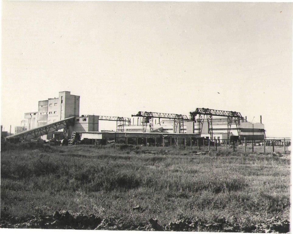Силикатный завод. 1971 год